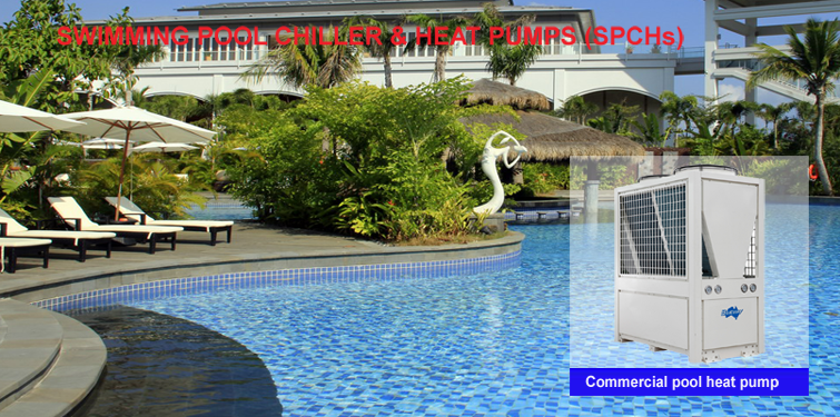 Commercial swimming pool heat pump supplier blueway for Commercial swimming pool
