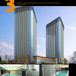 Sheraton hotel indoor swimming pool, Taizhou Zhejiang province