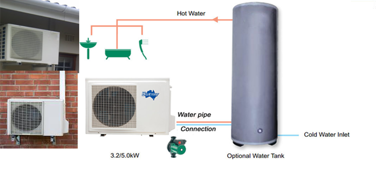 Domestic-hot-water-heat-pump-1